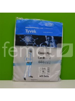 Combinaison de protection pour chantier d'isolation de combes - Tyvek