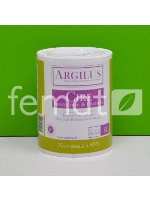 CIRE DE PROTECTION ET FINITION ARGILUS 1 L